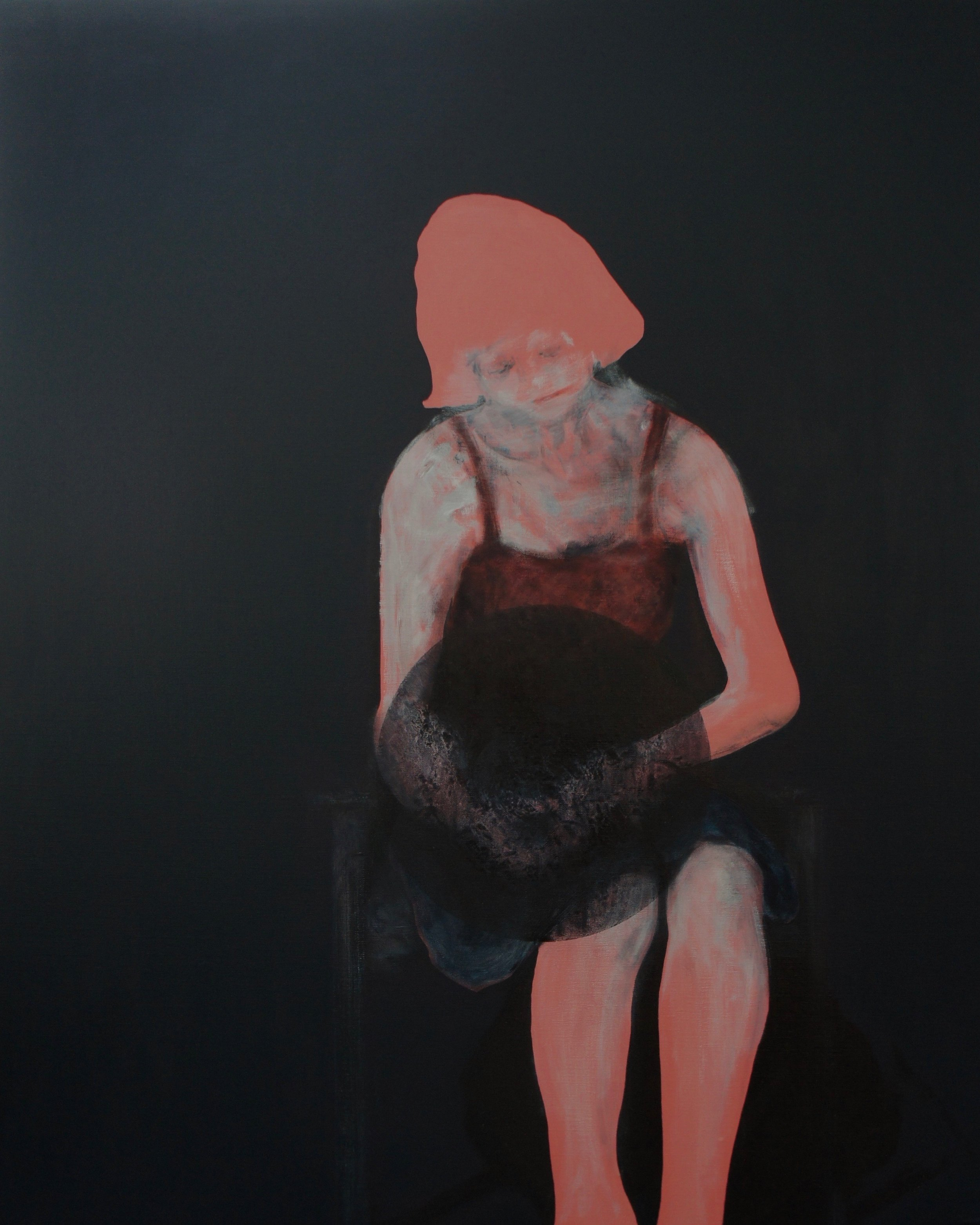 Lee Hardman - Seated Woman Waiting.jpg