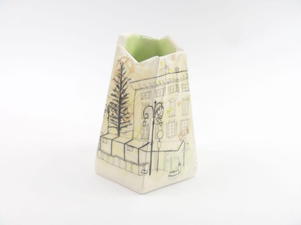 Small Italian Vessel - Lime Green  £90