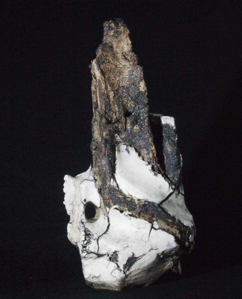 Sentinel  Stoneware & porcelain  19 H x 16 W x 12 D  £145