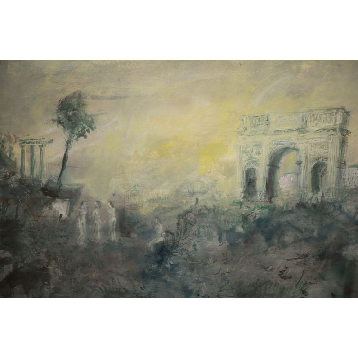 Arch of Constantine by Stephen Todd