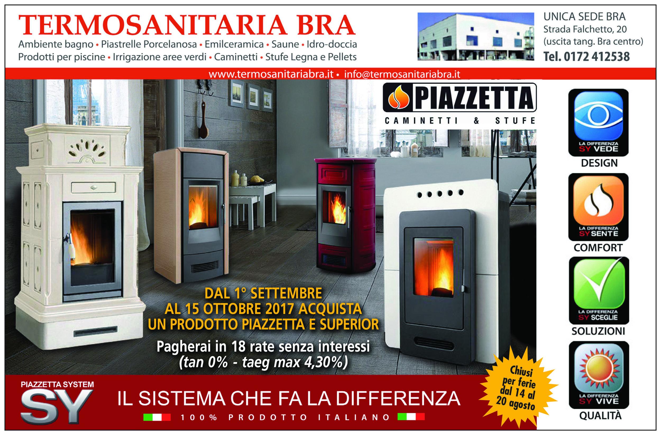 stufe piazzetta camini piazzetta promozione pellet gas legna riscaldamento casa