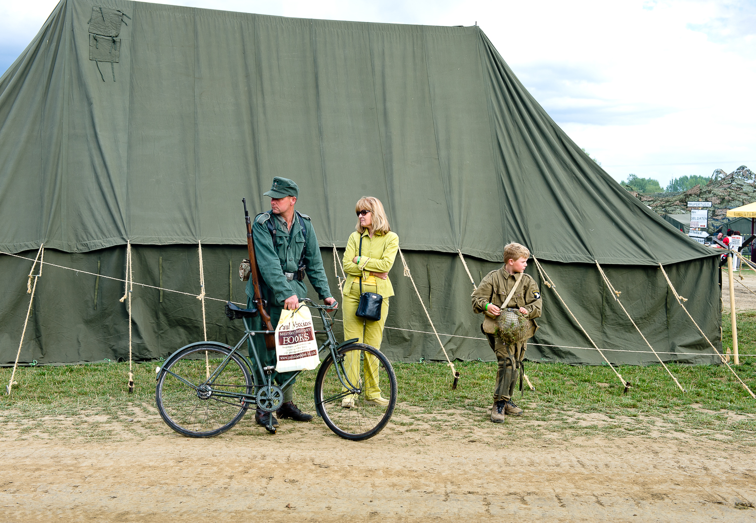 Family at War and Peace show, Kent