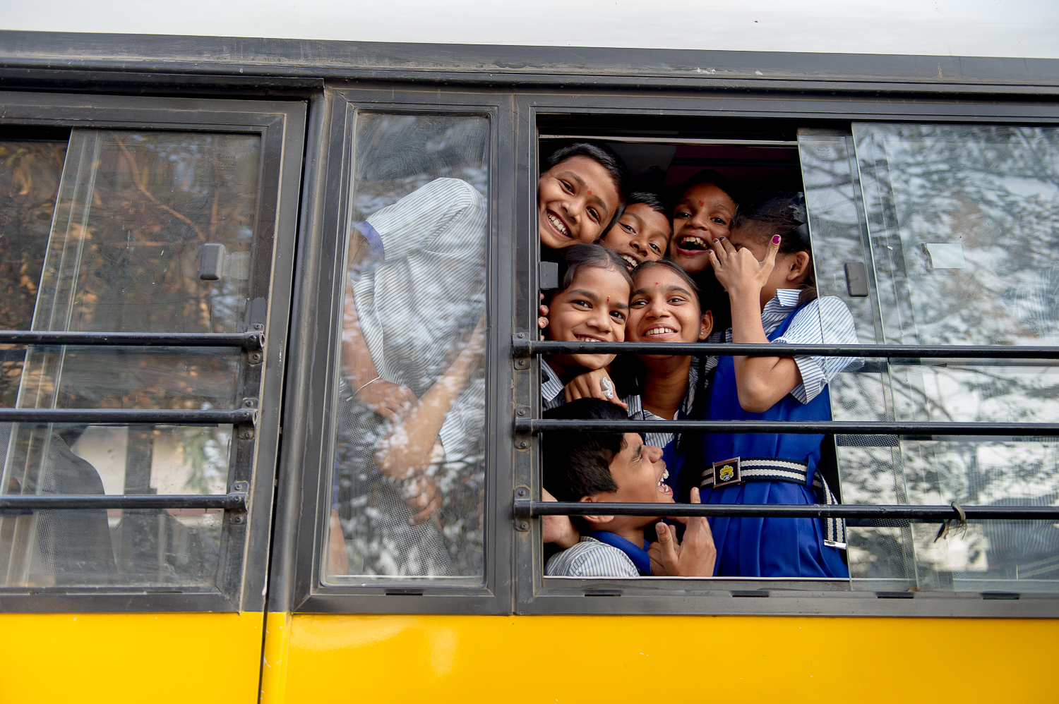 School bus Mumbai, 2017