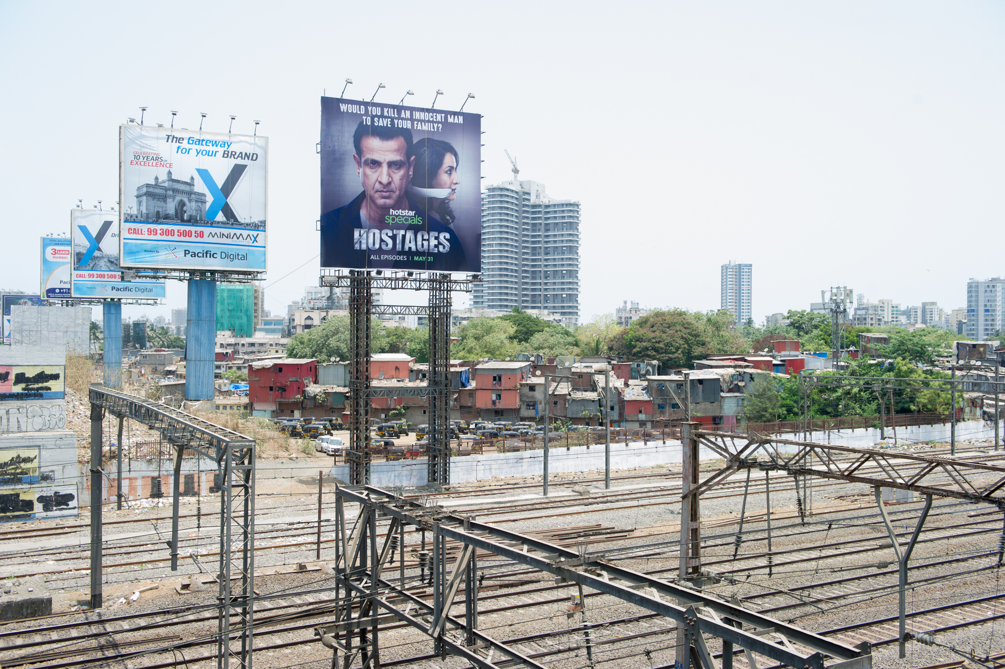 Advertisment Billboards, Bandra, Mumbai, 2019