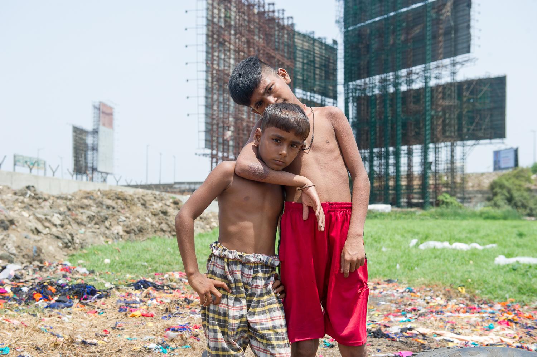 Dharavi slum, Bandra, Mumbai 2019