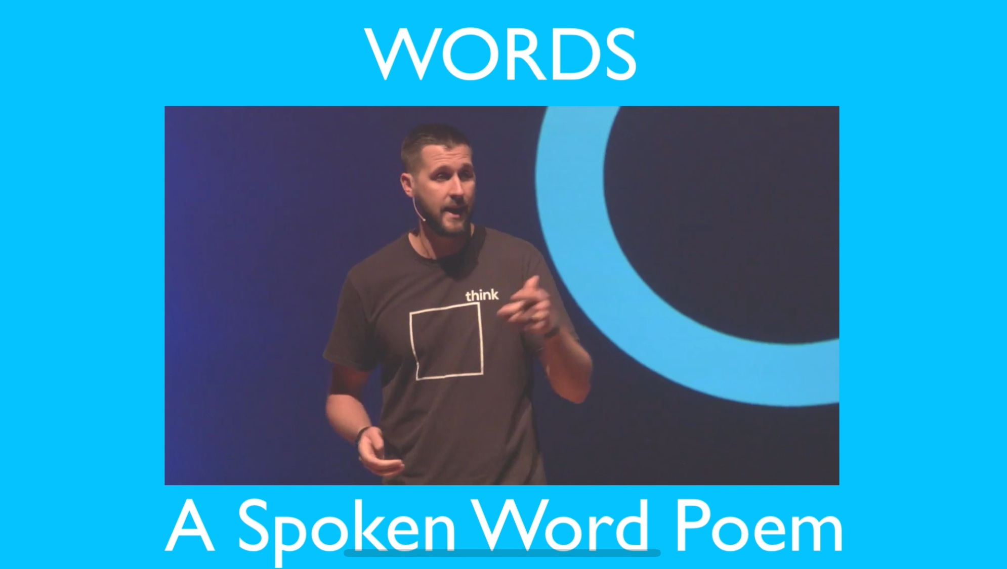 WORDS - A Spoken Word Poem