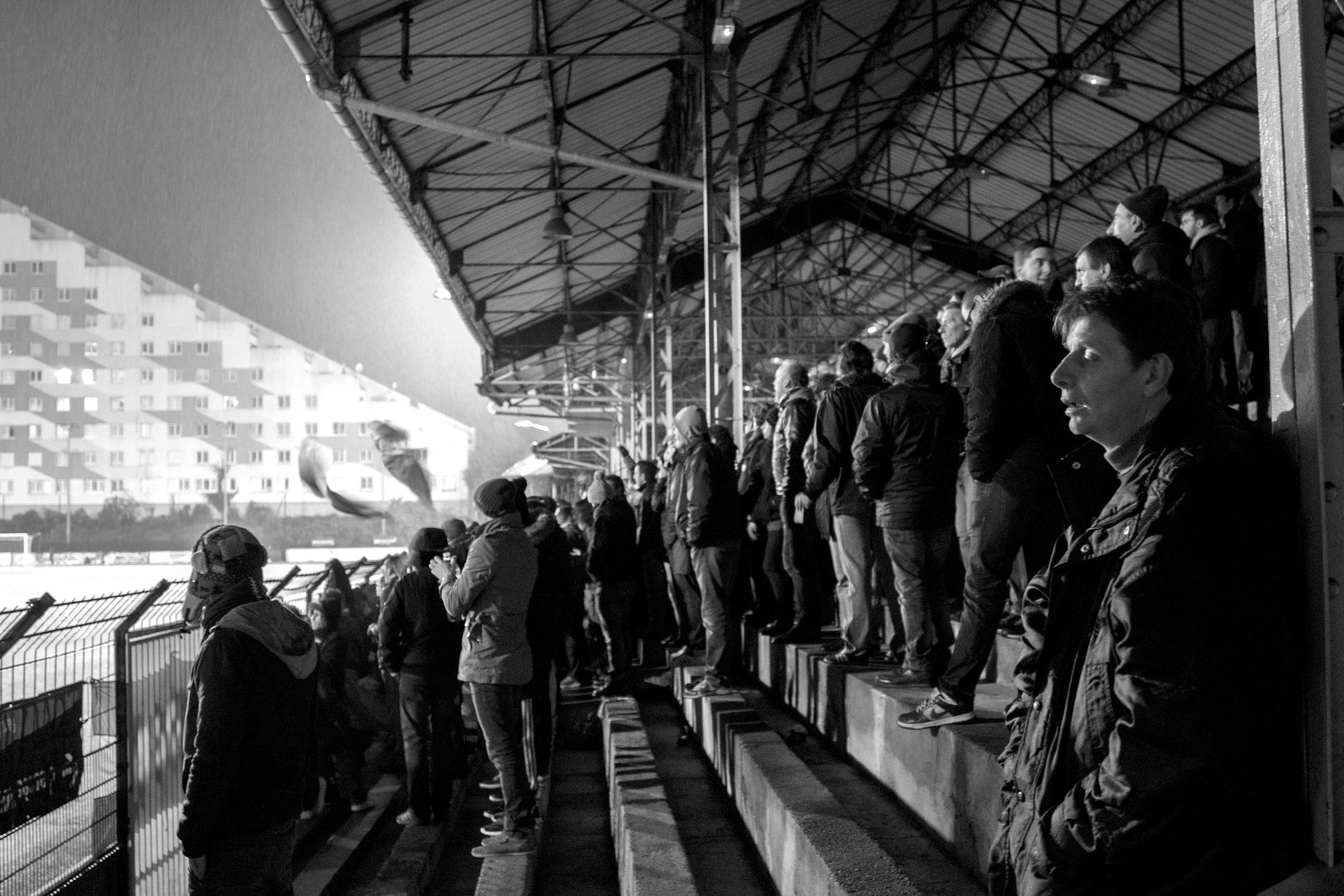 Red Star er det eneste alternativ til pengeklubben PSG, der ikke falder i alle pariseres smag.   Foto: Hugo Cadena