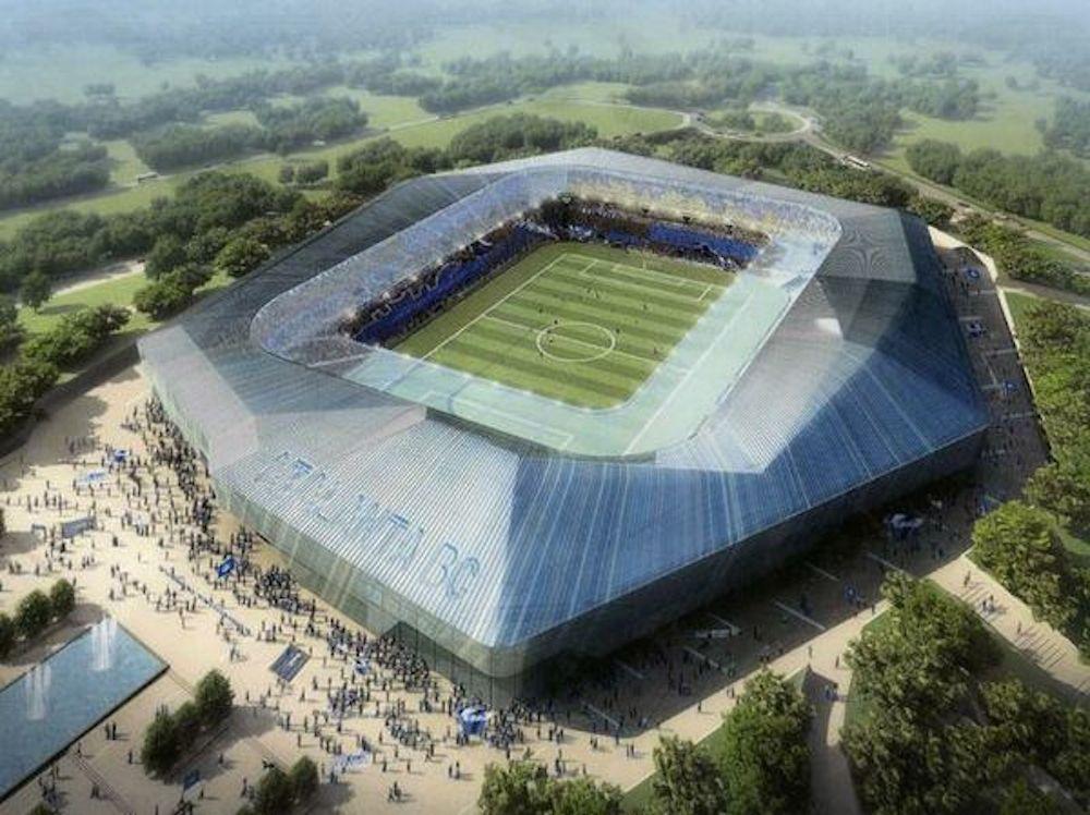 Atalanta BC havde håbet at gå i gang med bygningen af dette smukke stadion. Desværre må Bergamo-klubben nøjes med at renovere Stadio Atleti Azzurri D'Italia.Photo:  ctrlmagazine