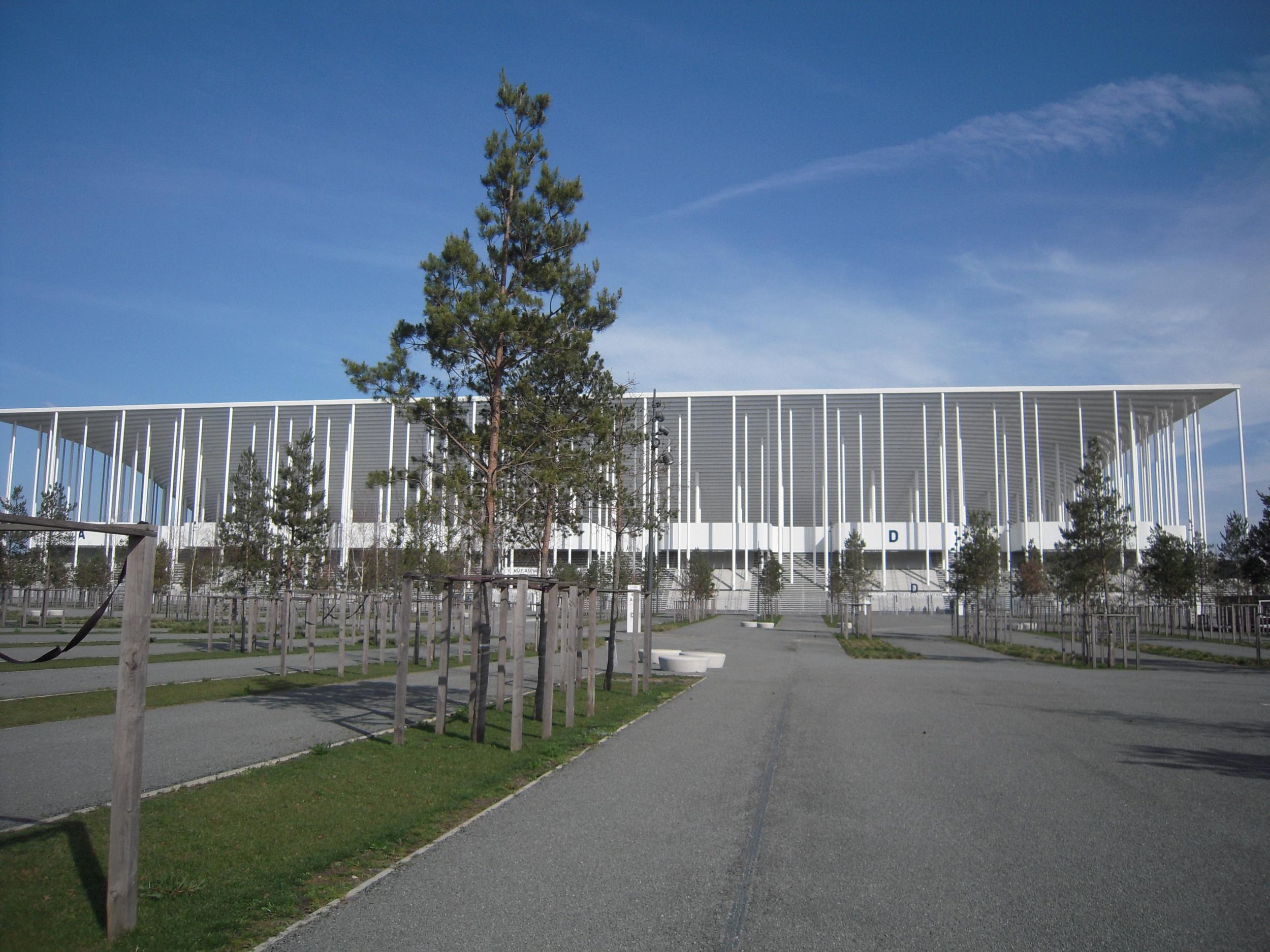 Det nye matmut Atlantique er EM-slutrundens smukkeste stadion og et vartegn for Bordeaux i det sydvestlige Frankrig. Foto: Flickr/ patrick janicek /   CC BY 2.0
