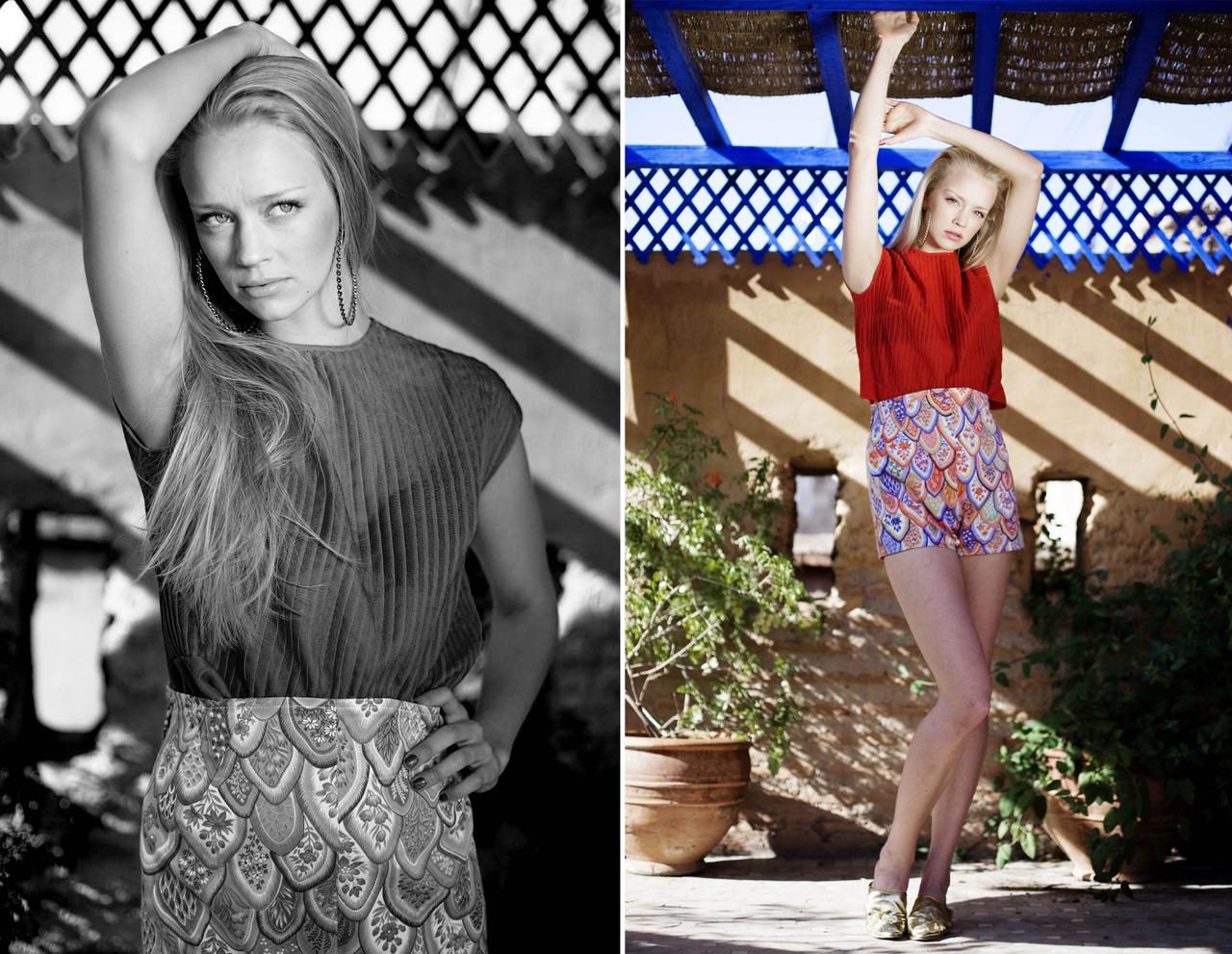 Marthe F  Fretex fashion Marrakech.