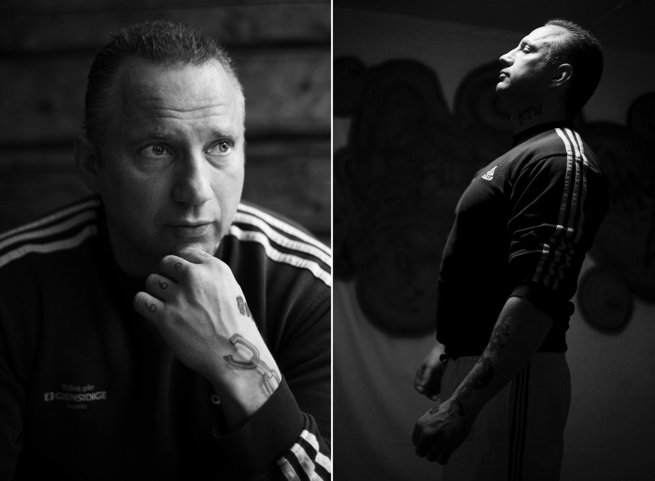Documentary project  Back from Hell.       Former norwegian youth champion boxer, former torpedo …. his hands was classified as lethal weapon …. former drug addict. I spent a day with this man, telling his stories.      Im recording sound from each meeting whit the x- drug addicts.