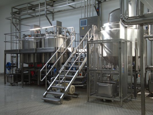 9 T/HR OAL Steam Infusion Soup Plant at Larco Foods