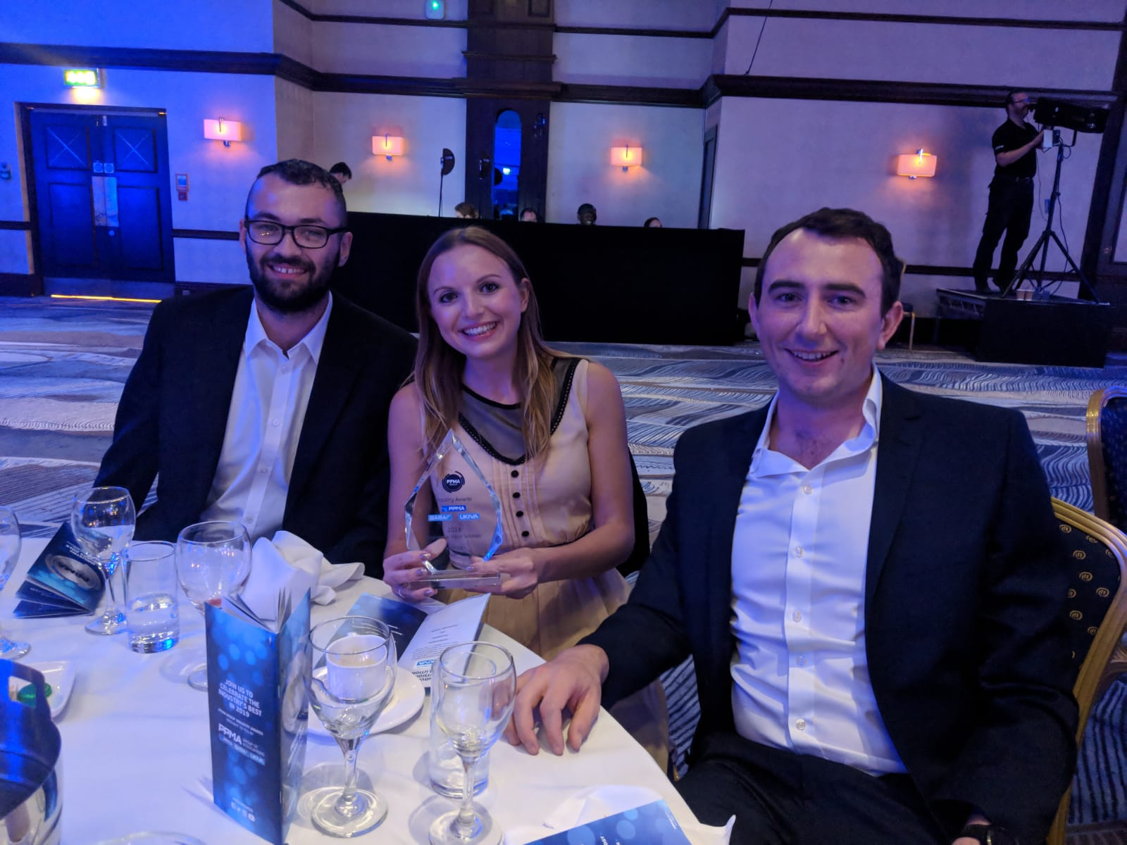 Innovative Vision Solution Award & Apprentice of the Year - PPMA awards