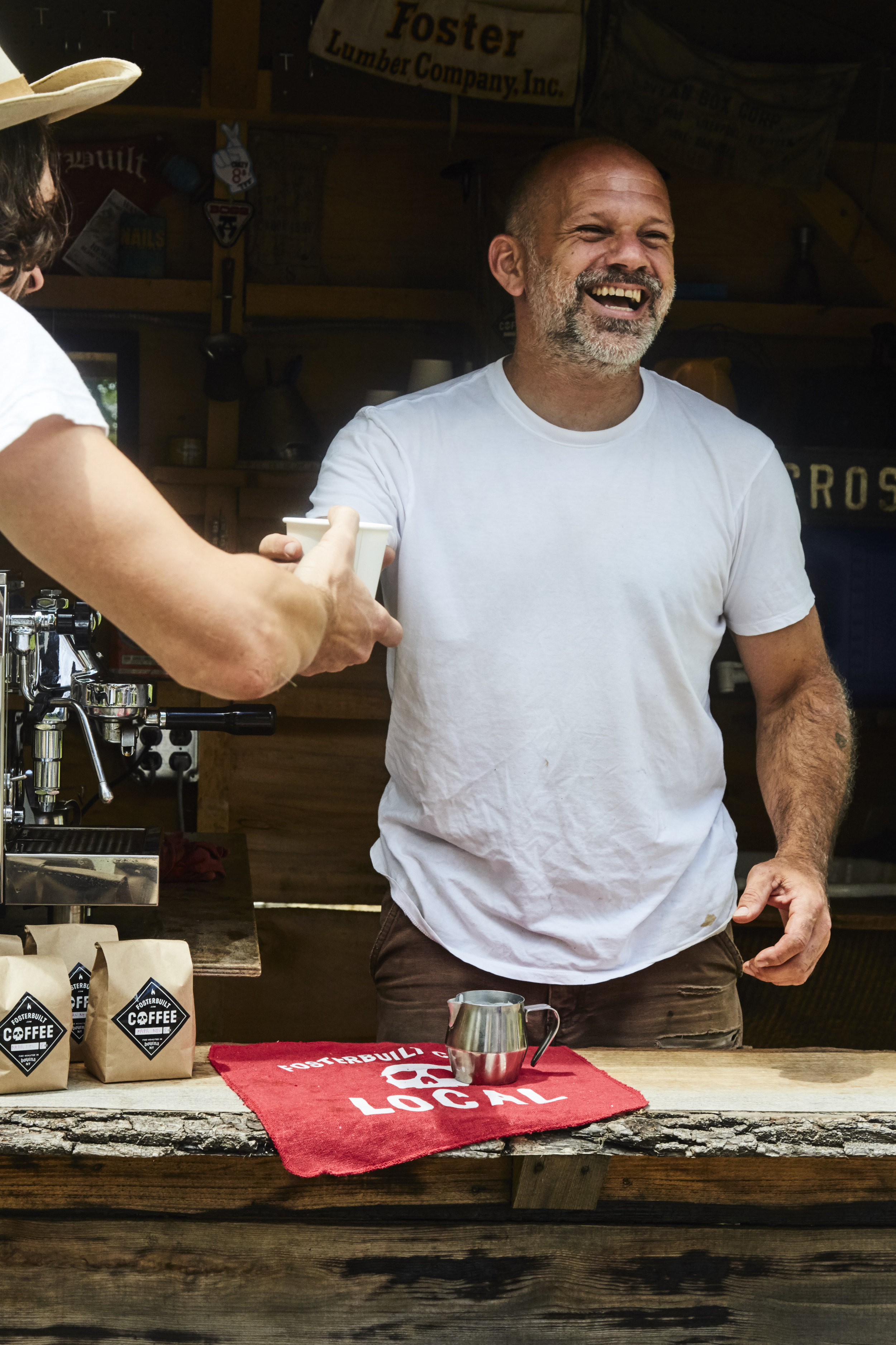 Mark Foster. Founder, FosterBuilt Coffee.