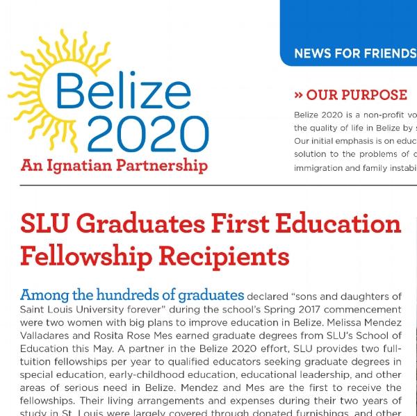 Download Belize 2020 Newsletter