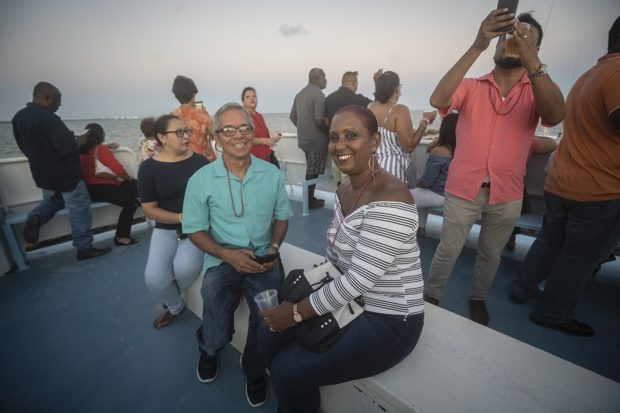 One hundred friends of St. Martin's turned out for a boat cruise to raise money for the school.
