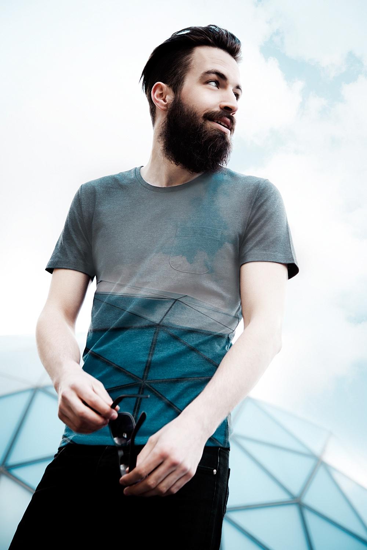 Modefotografie double exposure Blob Eindhoven