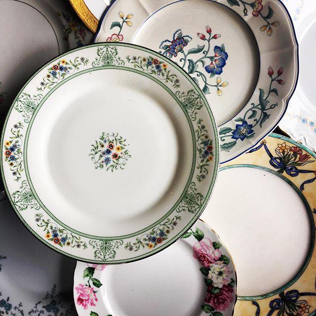 An item from our VIB wish list! #threebsfinderys #3bsbarn #3bsseasonthree #mismatchedchina #floralpatterns