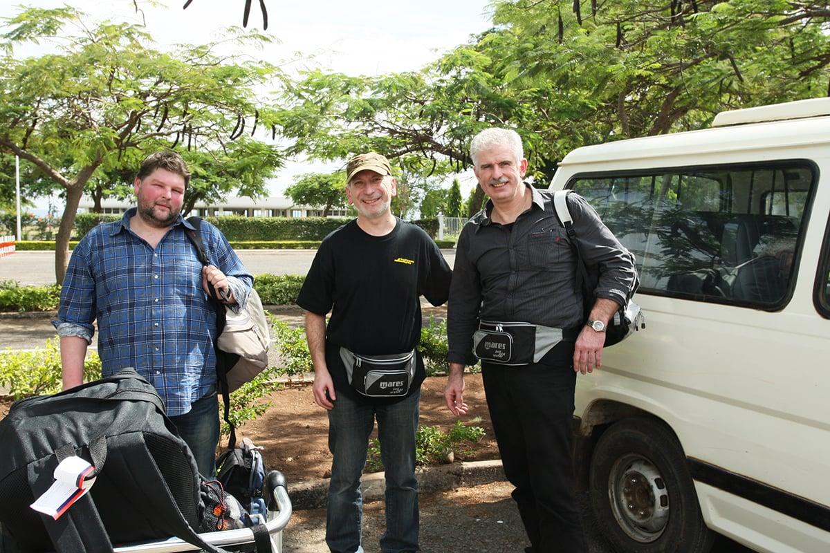 My travel companions for the safari.