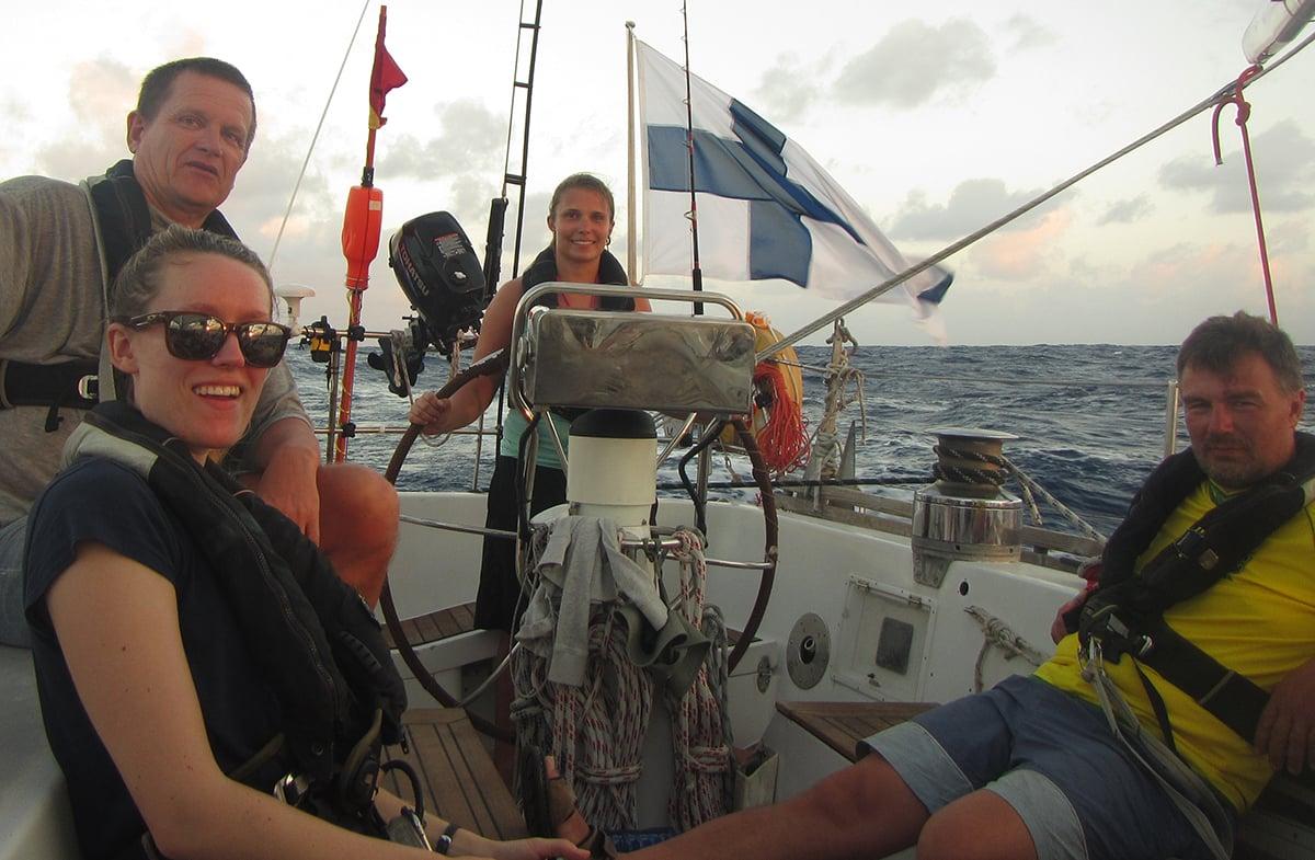 Happy sailors!