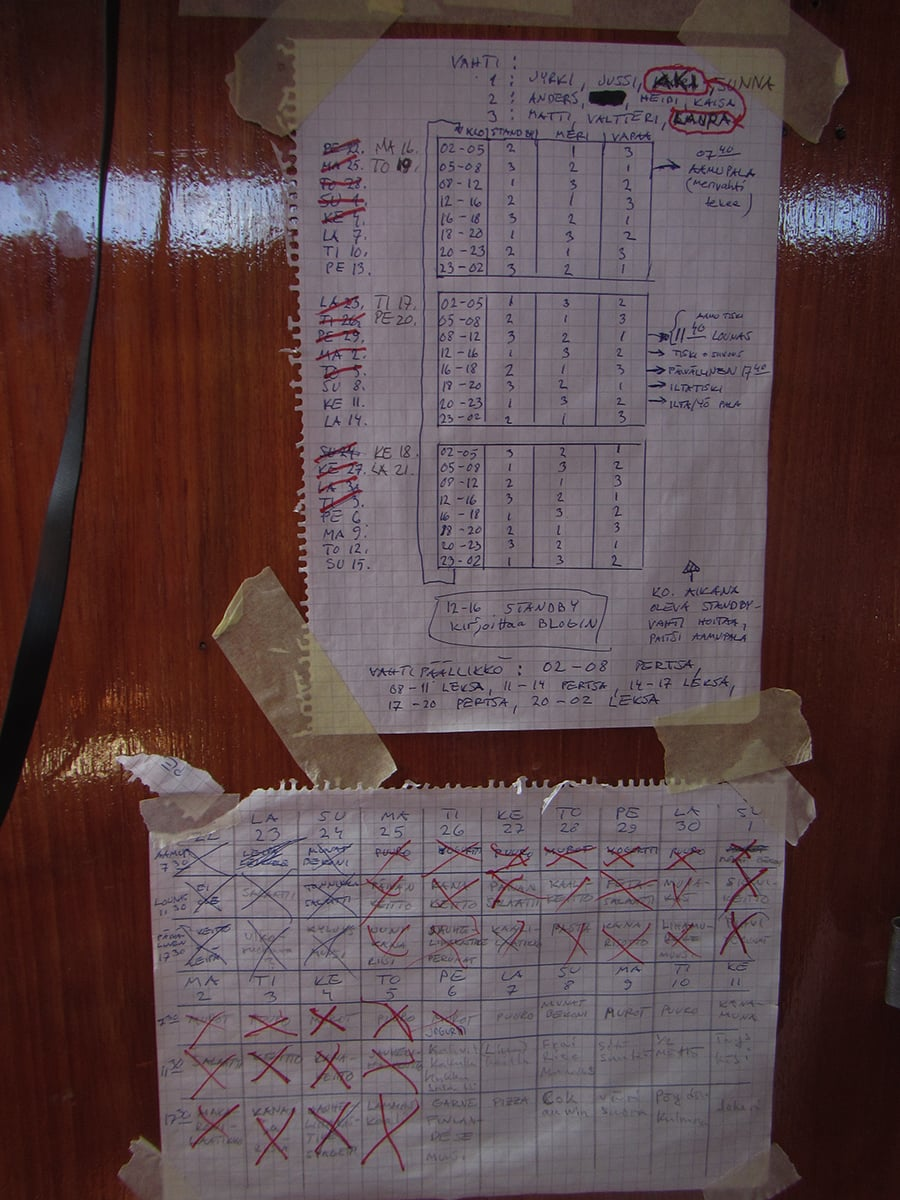 Our timetable for working hours and also the menu