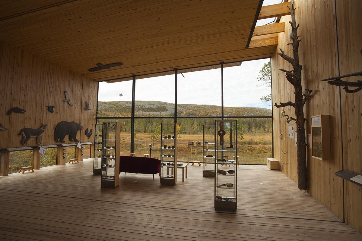 National park center in Sweden