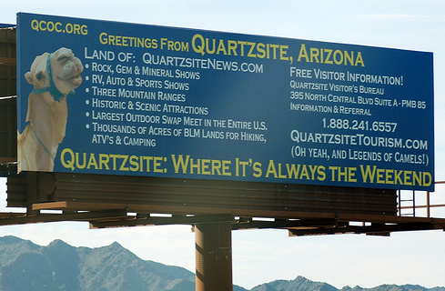 This billboard copy… Not so clean…