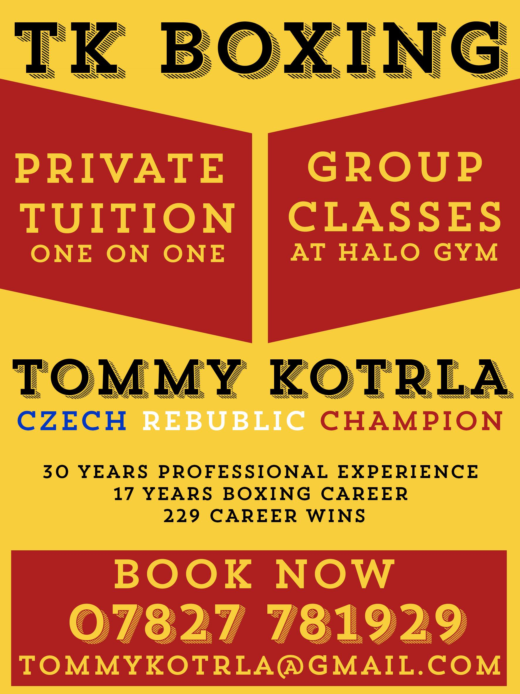 tkboxing leaflet