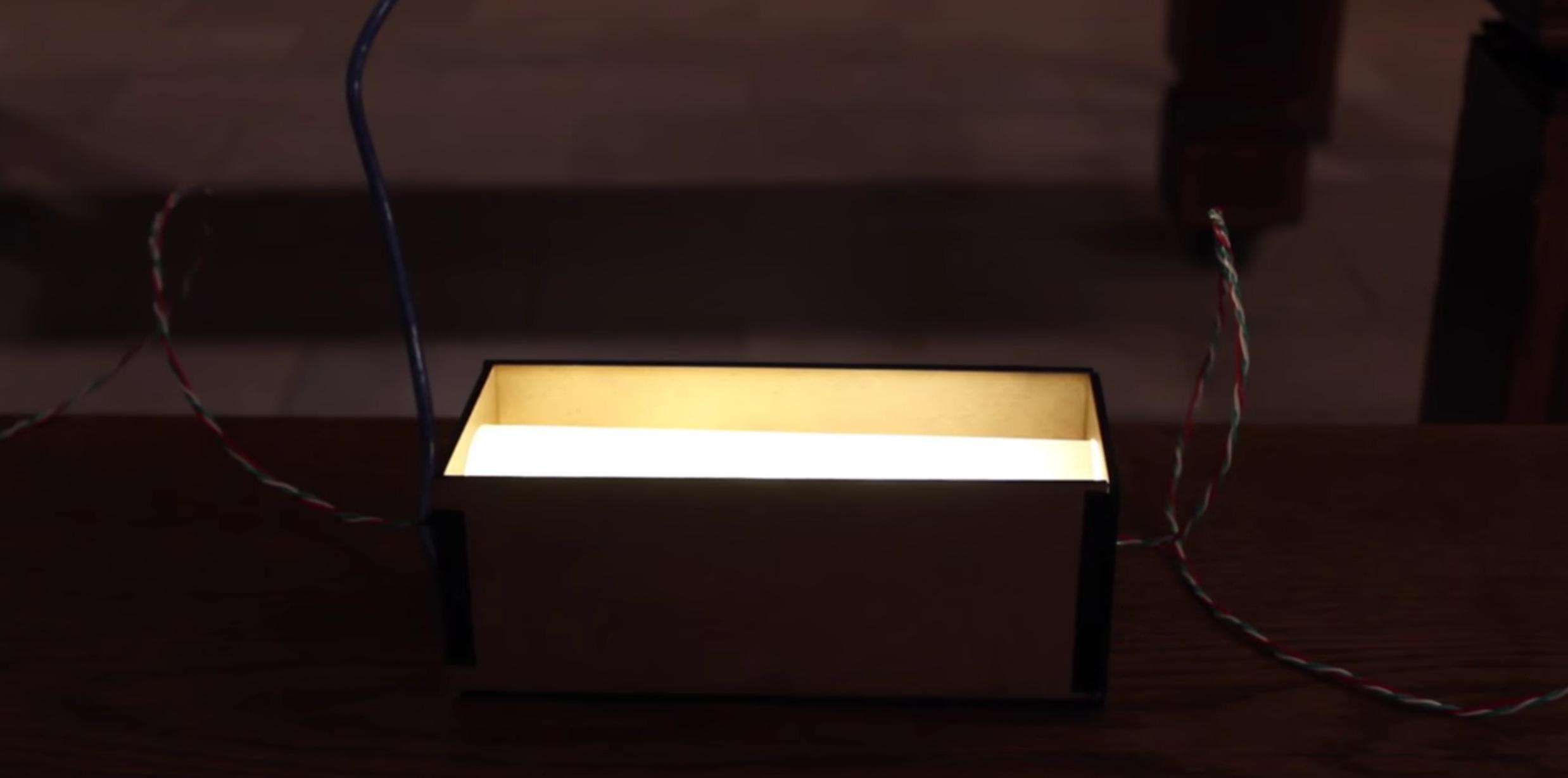 Koubai: A conversation aware lamp