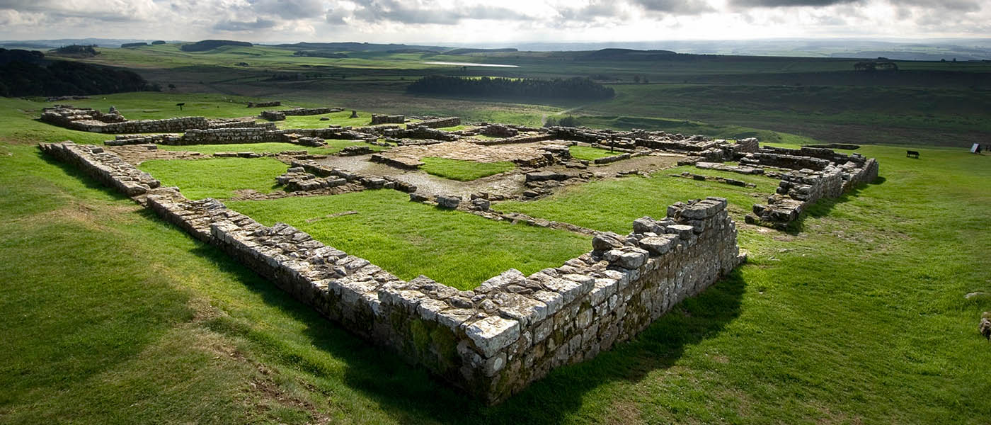 Housesteads Roman Fort on Hadrian's Wall at Hexham