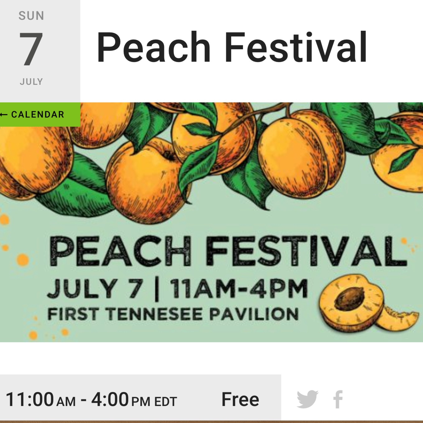 June 7th - Get your peach fix and come see us feeling peachy about our new line of jewels! See you there!