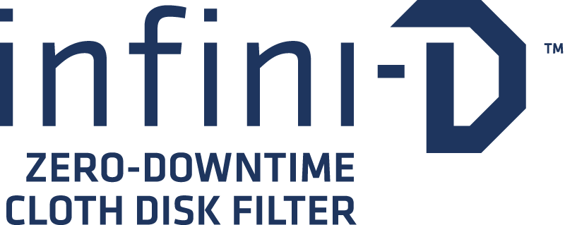 infini-D Zero-Downtime Cloth Disk Filter