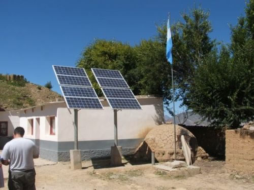 Paneles solares en Permer. Recuperado de http://permer.minem.gob.ar.