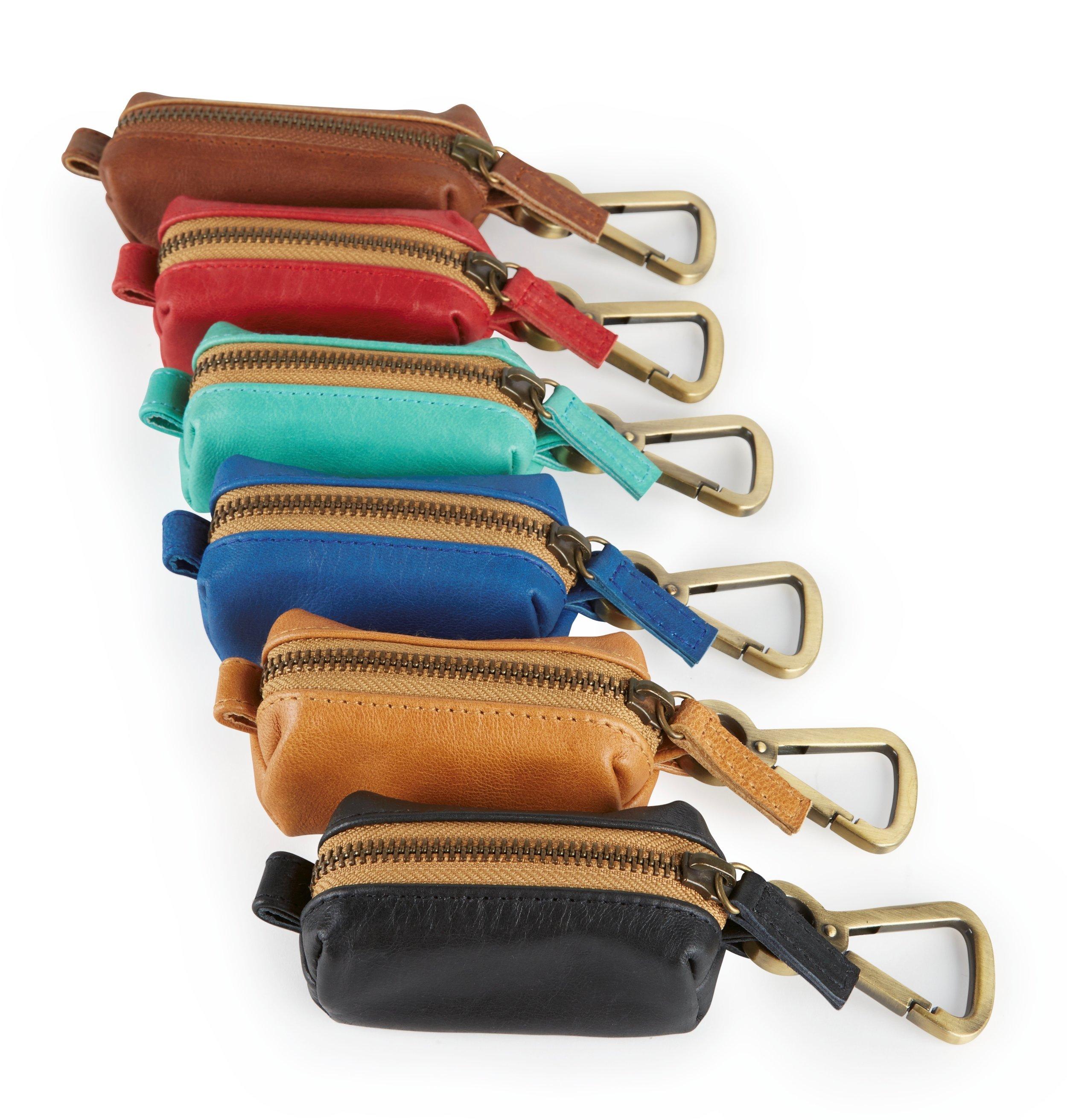 Pocket Poopers - Leather Poop Bag Holders