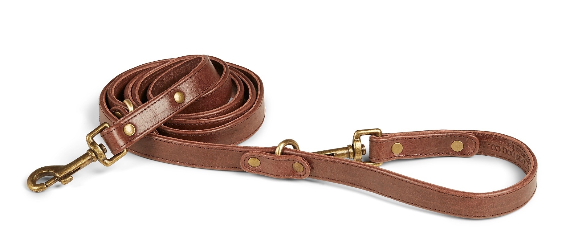 Santa Barbara - Italian Leather Hands Free Dog Leash