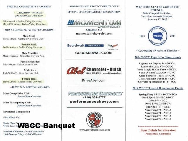 2015 WSCC Banquet