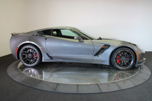 Glen and Sandy - 15 Z06 (before being wrapped)