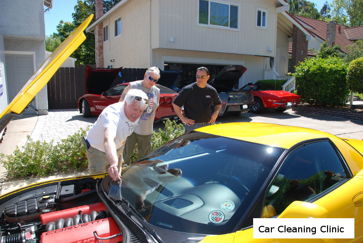 Car Cleaning Clinic on 4/16 at Lorne Thompson's