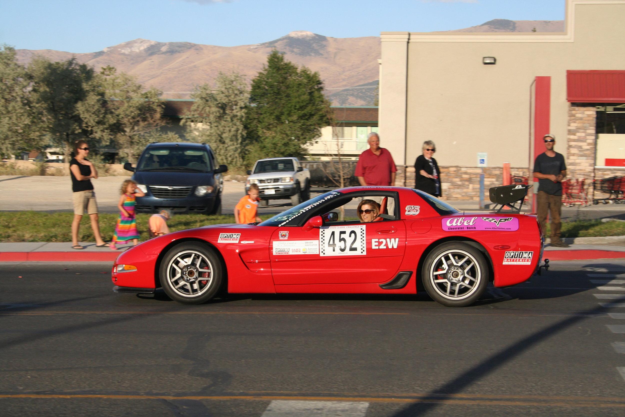 Helens car - Silver State Classic.JPG