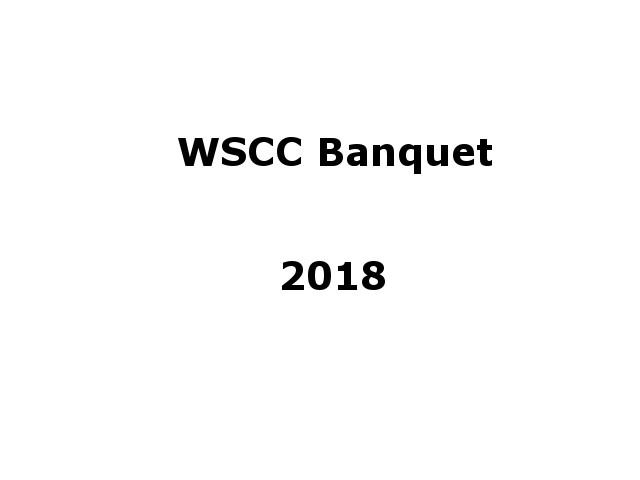 WSCC Banquet