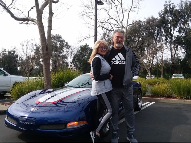 Tony And Donna - 2004 LeMans Blue Z06