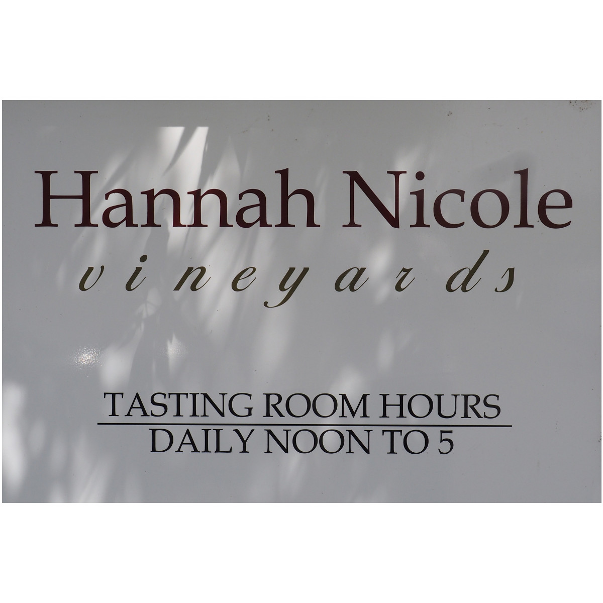 Hannah Nicole Winery