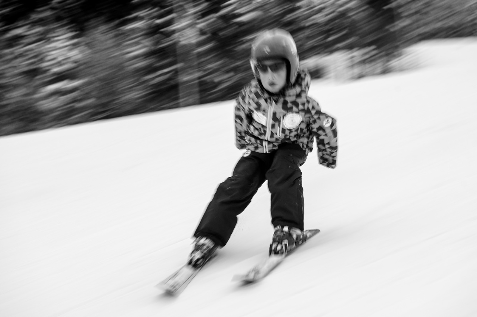 Ismail is skiing at the Olympic mountain Bjelasnica.