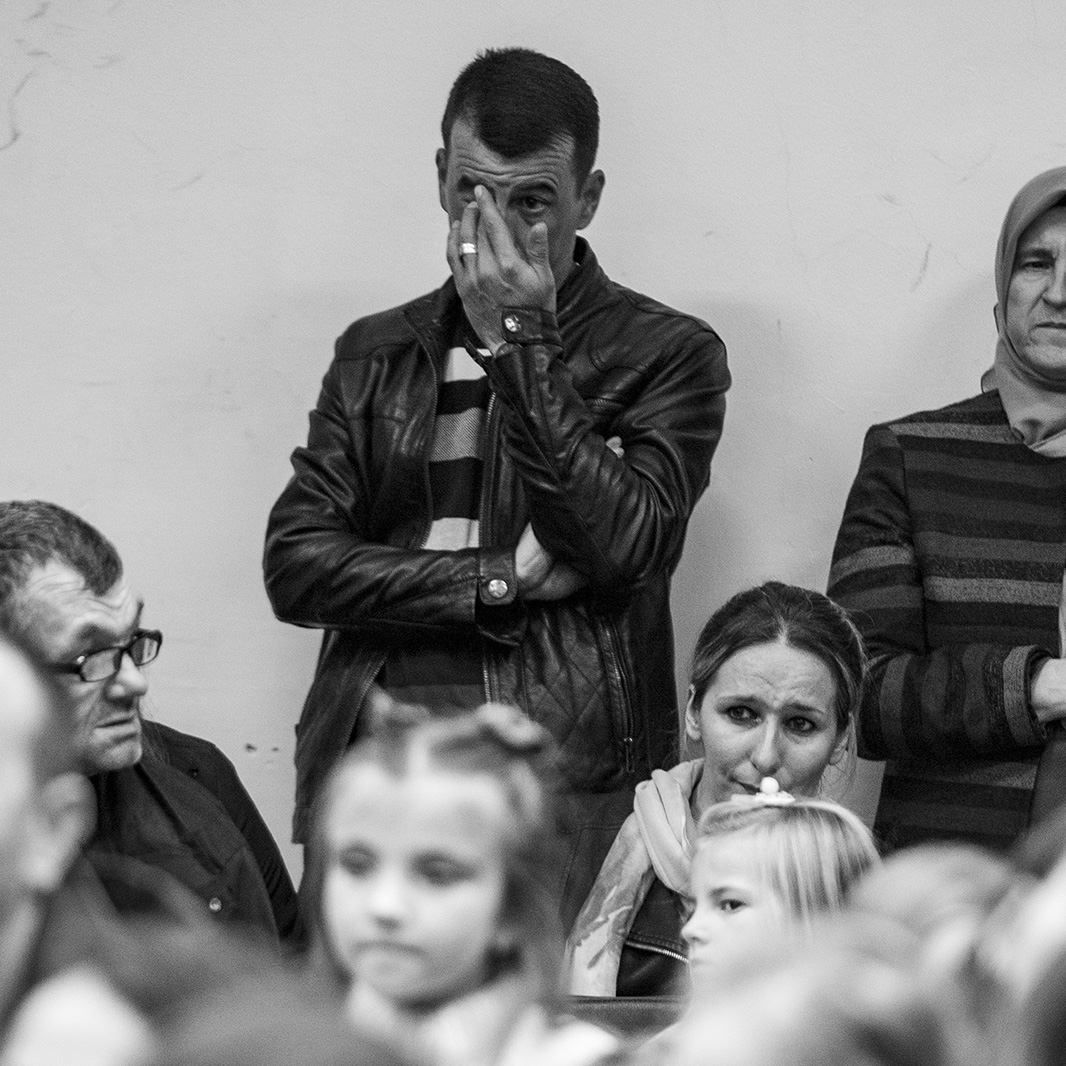 The launch of Kozlic's book was an emotional moment for Ismail's parents.
