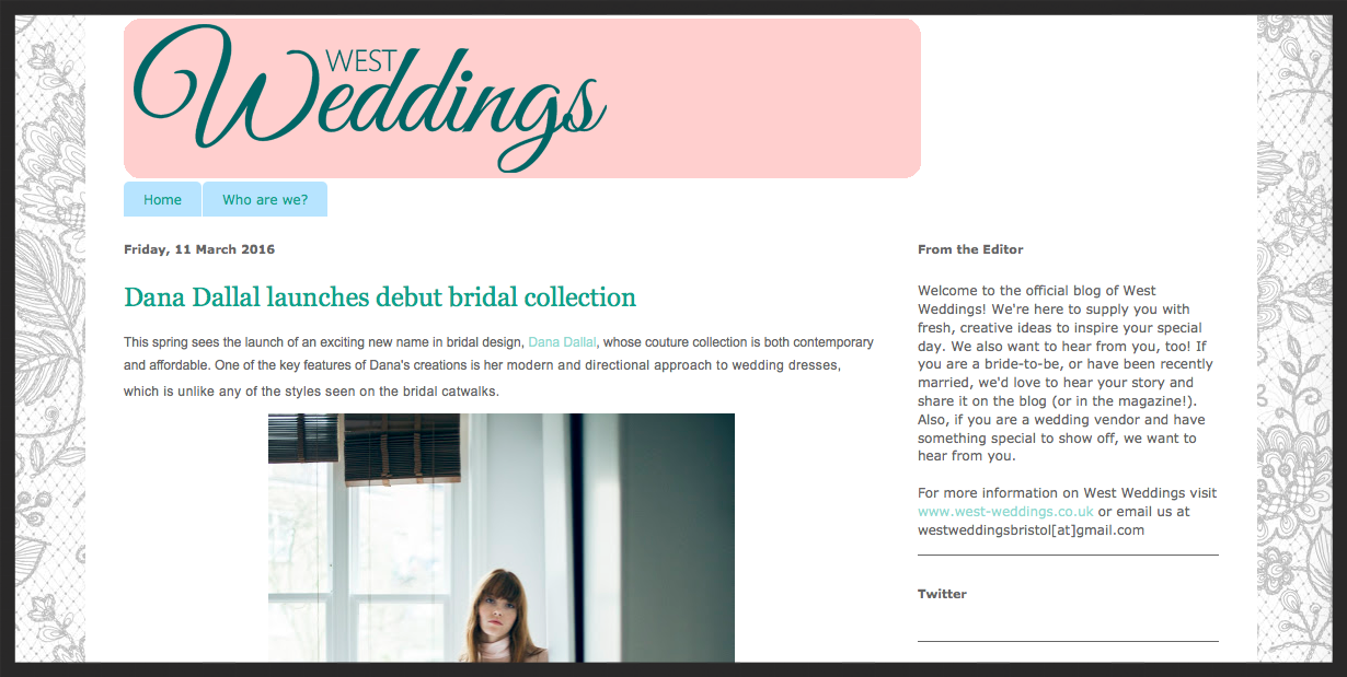West Weddings  11/03/16