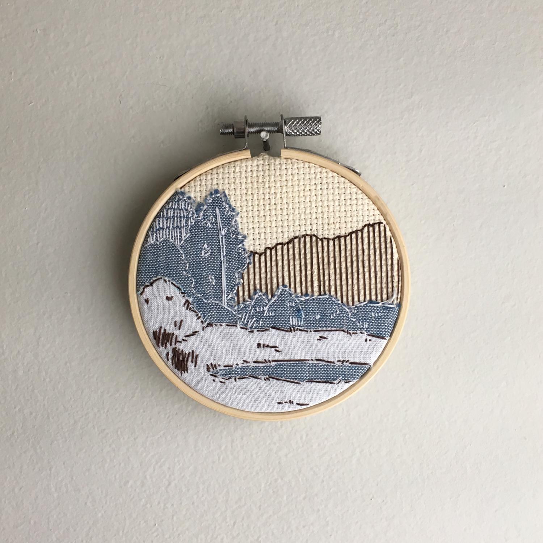 Tiny landscape, 2019