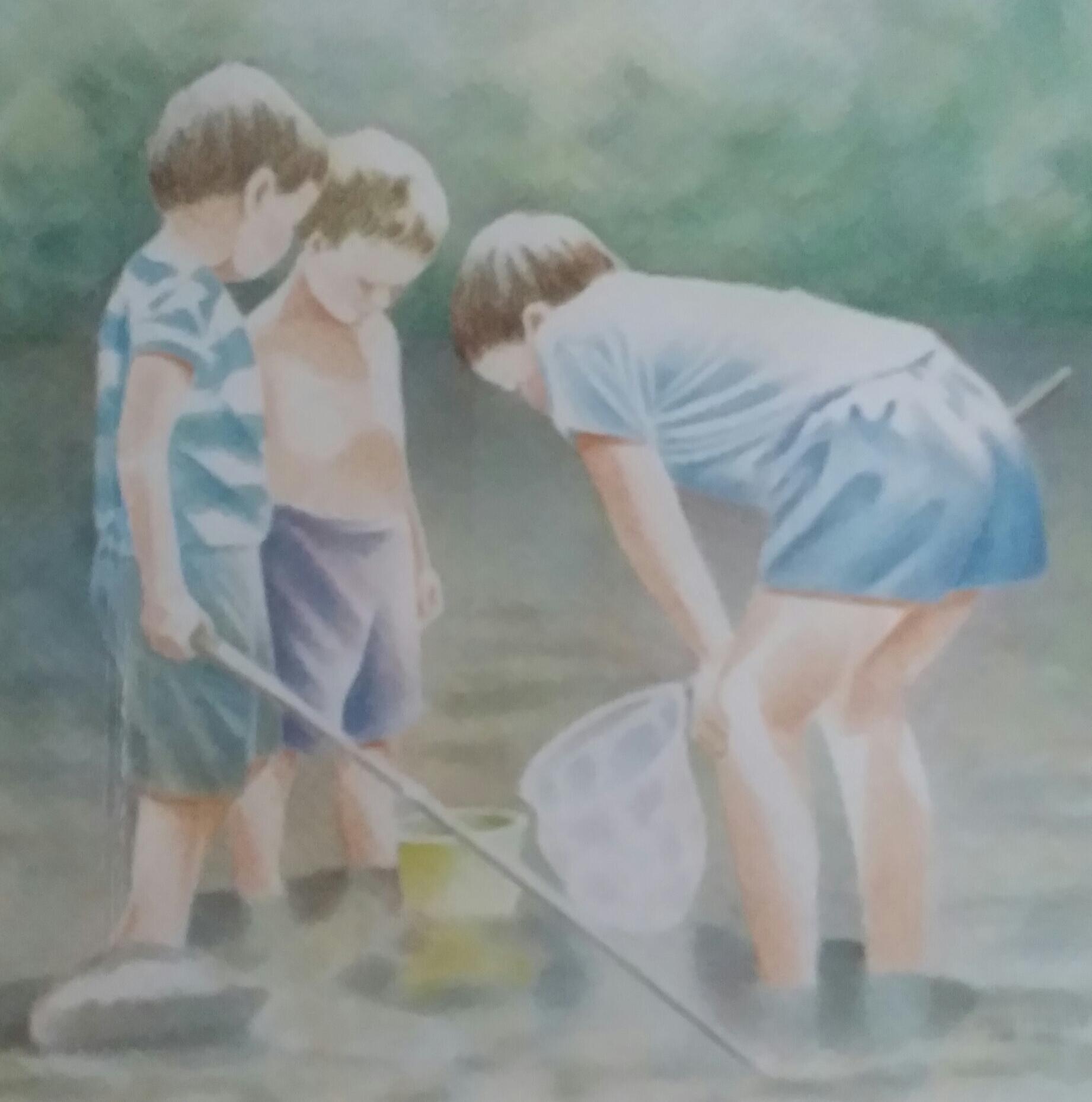 BOYS GONE FISHIN