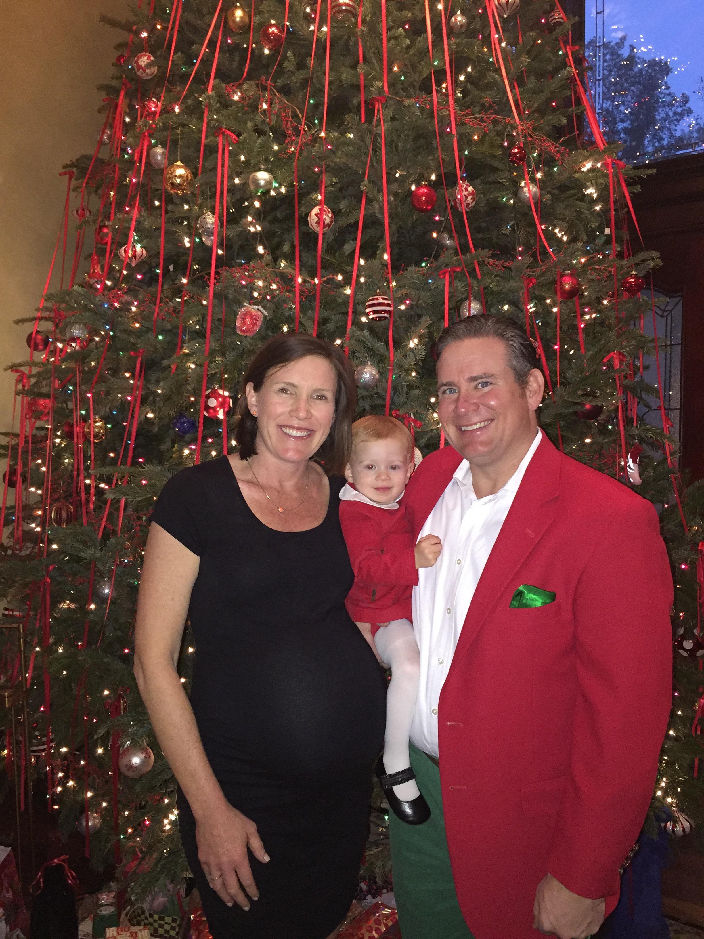 Christmas Day 2015 - 32 Weeks
