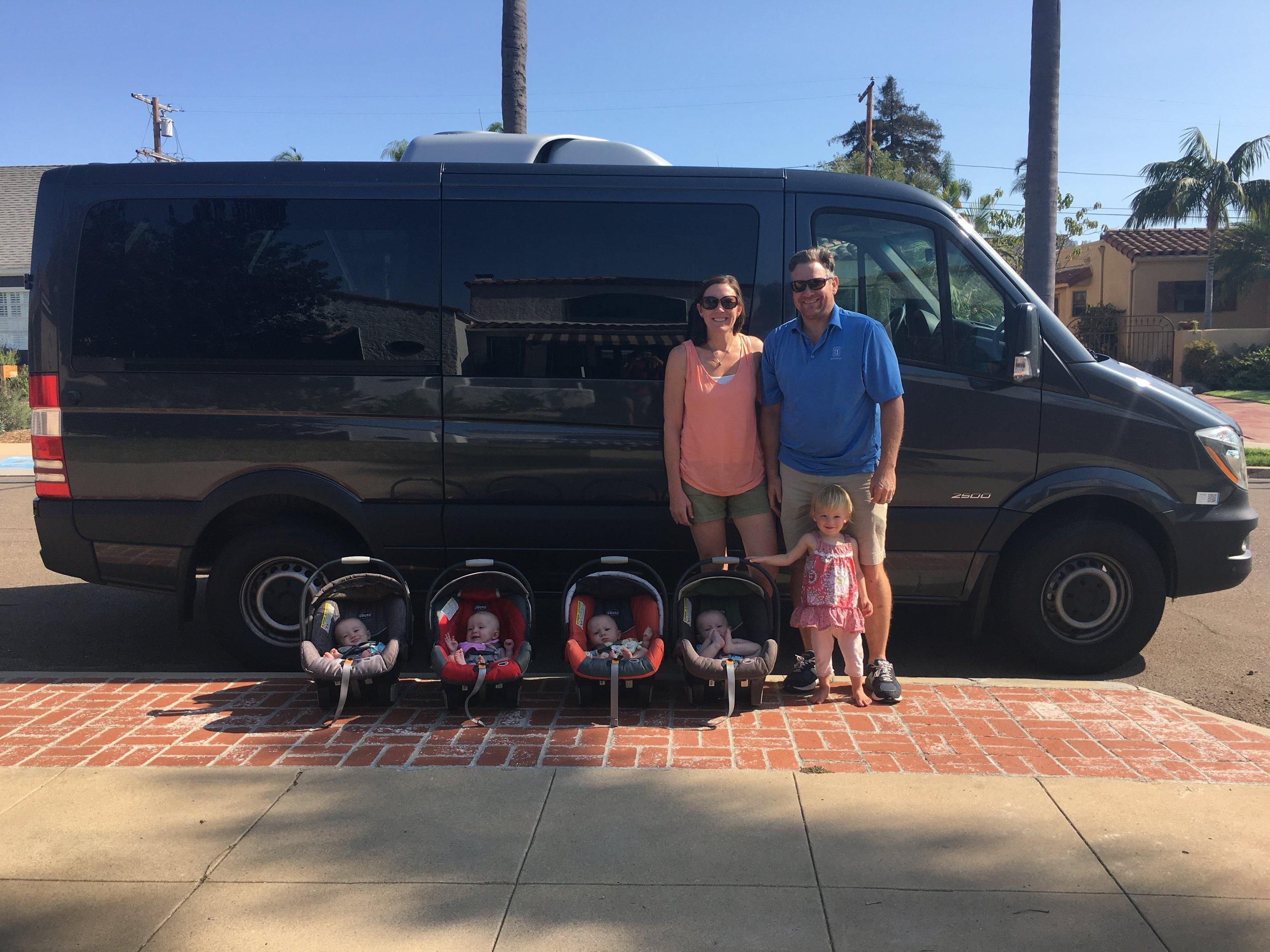 Monster Van Made it Home