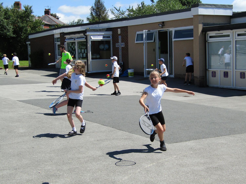 Tennis skills